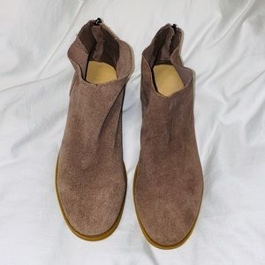 Dirty Laundry Suede Ankle Booties